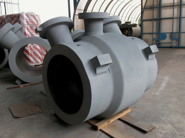 ASSEMBLED COMPRESSOR BODY