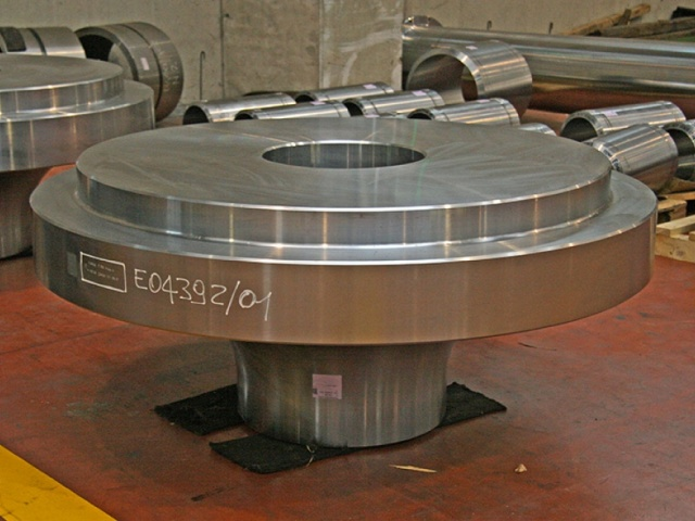 DISCHARGE FOR HYDRAULIC TURBINE