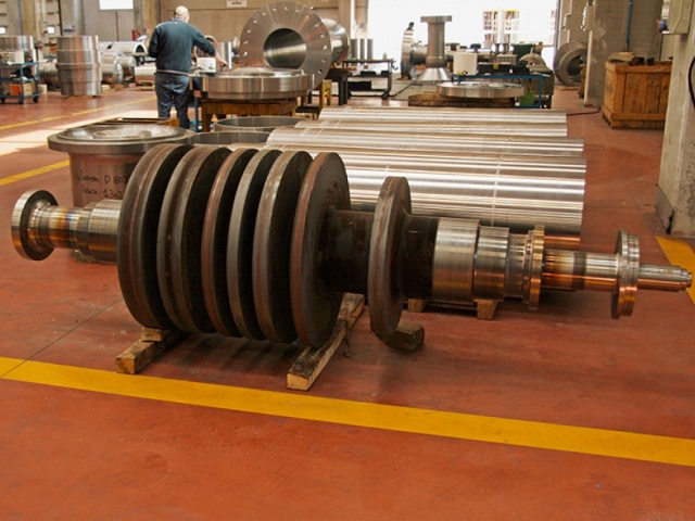 ROTOR FOR STEAM TURBINE